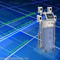 China Body firming and shaping 4 Big heads cryolipolysis slimming machine on sale