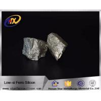 Gray FeSi Alloy Good price of Ferro Silicon FeSi 10-50mm metal for steel making Manufactures