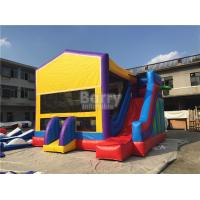 Buy cheap 0.55mm Pvc Amazing Bounce House Slide Combo For Outdoor Entertainment from wholesalers