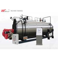6 T / H Automatic Steam Boiler Gas Fired High Security Environmental Friendly Manufactures