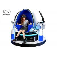 Colorful Cabin 9D VR Game Machine / Virtual Reality Egg Chair Manufactures