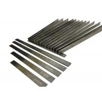 China Woodworking Tungsten Carbide Strips High Precision Grinding With 30 ° Sharp Edge on sale