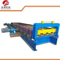 Full Automatic Floor Deck Roll Forming Machine For Steel Structure Construction Manufactures