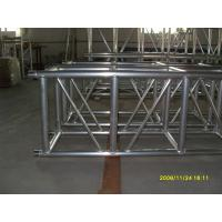 Outdoor Party Aluminum Square Truss 500mm X 500mm Silver / Black With Spigot Connector Manufactures