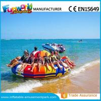 0.9mm PVC Inflatable Water Parks Inflatable Disco Boat Saturn 1 Years Warranty Manufactures