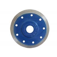 "4.5"" Diamond Tile Saw Blade Tile Cutting Disk Black / Blue / Yellow Color Manufactures"