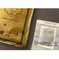 Thai Cleansing Detoxification Foot Pads Patch Purify Herbal Single Foil Pouch Pack Manufactures
