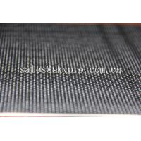 high quality treadmill belts , black color and diamond or golf pattern on top Manufactures