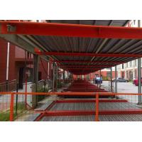 Safe Steel Structure For Car Parking , Silver / White Multi Storey Steel Structure Manufactures