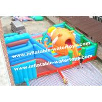 Quality Big Tiger 0.55mm PVC Tarpaulin Inflatable Jumping Castle Playground Amusement Park for sale