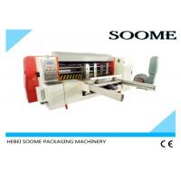 Automatic Lead Edge Feeder , Rotary Manual Paper Die Cutting Machine 2T Weight Manufactures