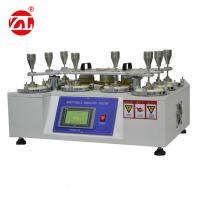 Texitle Abrasion Resistance Testing Machine , Fabric Abrasion Testing Machine ASTM D4970 Manufactures
