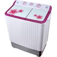 Colorful Twin Tub Semi Automatic Washing Machine 7kg  With Plastic Body Tempered Glass Manufactures