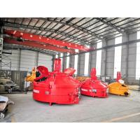 Pan Refractory Mixer Machine With Fast Discharging Speed Ready Mix Concrete MT250 Manufactures