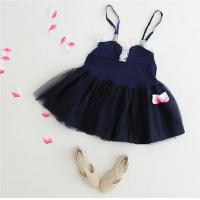 Quality Angou New baby Girls slip dress Toddler Kids Clothes Sleeveless girl Tutu Dress Partydress for sale