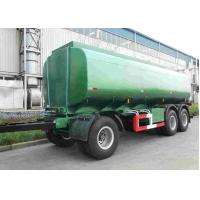 42000 Oil Tank Trailer / Fuel Tanker Semi Trailer With 4 Inch Manhole Cover Manufactures