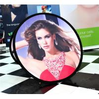Small Round Trade Show Banners Stand For Indoor Display 100*100cm Manufactures