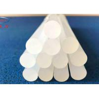 China Industrial  Hot Melt Glue Sticks For Plastic Wood , Crystal Clear 11mm Hot Glue Gun Sticks on sale