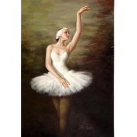 Oil Painting About the Elegant Ballerina Manufactures