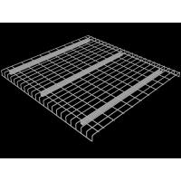 U Channel Wire Mesh Decking Detachable For Selective Pallet Rack System Manufactures