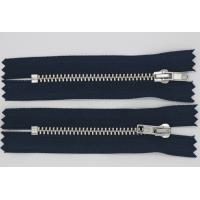 Personalized Pulls Heavy Duty Parka Zippers , Reversible 7 Inch Separating Zipper Manufactures