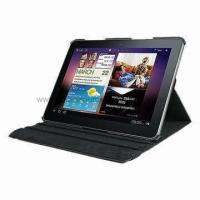 PU Leather Case for Samsung Galaxy Tab 2, with Standing Function Manufactures