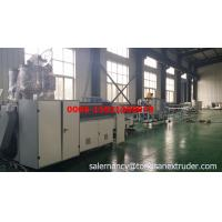 plastic double wall pp corrugated drainage pipe making machine Manufactures