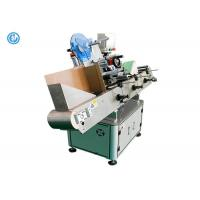 Autoamtic Horizontal Label Applicator Machine For Blood Test Tubes Unstable Objects Manufactures