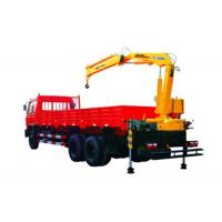 Durable 4 Ton Knuckle Arm Articulated Boom Crane , Driven By Hydraulic Manufactures