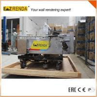 High Speed Automatic Rendering Machine Wall Plaster Machine For Internal Wall CE Manufactures