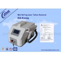China 1000MJ Professional Q Switch ND Yag Laser Machine For Tattoo Removal on sale