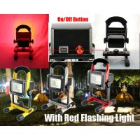 Red / Green Aluminum Portable Flood Lights DC12v 10W With High CRI Manufactures