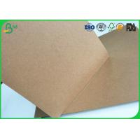 Brown Kraft Liner Paper Board 80gsm - 350gsm Stretching Resistance For Cement Bag Paper Manufactures