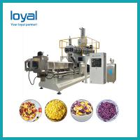 Grain Puffing Breakfast Cereal Making Machine Food Grade Stainless Steel 304 Manufactures