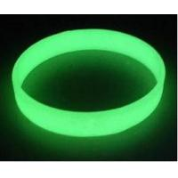 custom glow in the dark silicone bracelet ,luminous silicone wristband price Manufactures