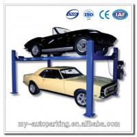 Used 4 Post Car Lift for Sale Double Parking Car Lift Manufactures