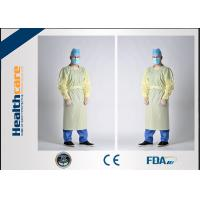 China Waterproof SBPP+PE Disposable Protective Gowns ,SMS Surgical Gowns Standard Sterile on sale