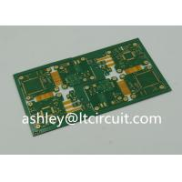 4 Layer FR4 Polymide Rigid Flexible PCB IC Controller Gold Plating Manufactures