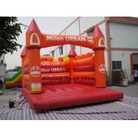 Fireproof Inflatable Castle Bouncer Advertising , Colorful Manufactures