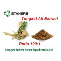 Quality Tongkat Ali Extract Natural Male Enhancement Ingredients , Herbal Male for sale