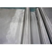 China Durable Sus 304 Stainless Steel Woven Wire Mesh For Filteration 1-500 Mesh on sale