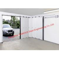 Customized Industrial Garage Doors With Remote Operator Quick Response Side Sliding Doors For Carport