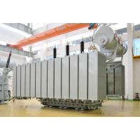 110kv Three Winding Oil-Immersed Power Transformer 6300KVA - 120MV , Low loss Manufactures