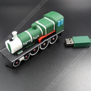 China train Cartoon USB Flash Drive , Pen Drive 8GB U Disk Genuine on sale