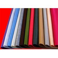 Anti - Static Wool Felt Blend Fabric No Smell With 100% Viscose Fiber Manufactures