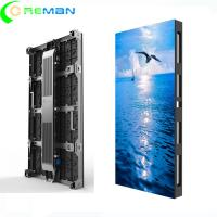 Outdoor RGB LED Video Wall Display Rental P3.91 - P6.25 500mm X 1000mm Cabinet Size Manufactures