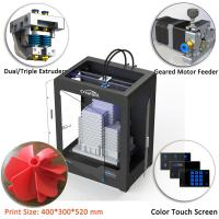 CreatBot DE Plus Multi Color 3d Printer Automatic Grade 400*300*520 Mm Dimension Manufactures