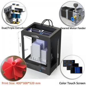 Quality CreatBot DE Plus Multi Color 3d Printer Automatic Grade 400*300*520 Mm Dimension for sale