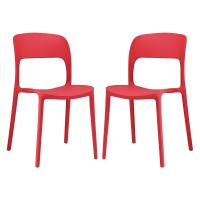 KLD dining side chair pp cheap party plastic stacking chair Manufactures