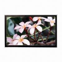 12.1-inch TFT LCD display, CMI wide screen & wide view angel, MVA Manufactures